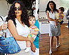 Photos of Salma Hayek and Baby Valentina