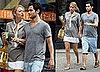 Photos of Blake Lively and Penn Badgley in New York City