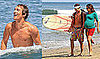 Photos of Shirtless Matthew McConaughey and Camila Alves at Malibu Beach