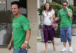 Photos of Mark Wahlberg Wearing a Notre Dame T Shirt