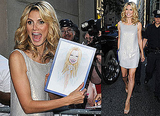 Photos of Heidi Klum on the Today Show