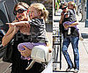 Photos of Jennifer Garner, Violet Affleck and Ben Affleck