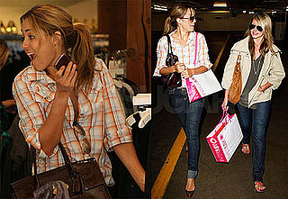 Photos of Lauren Conrad and Lo Bosworth Shopping in Los Angeles