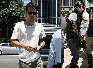 Photos of John Mayer and Pete Wentz at Lunch