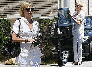 Photos of Hancock's Charlize Theron in Beverly Hills
