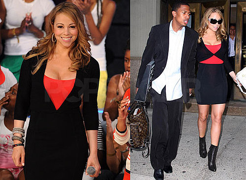 Photos of Mariah Carey and Nick Cannon in NYC