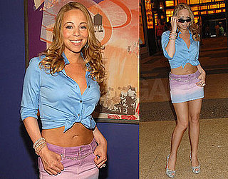 Photos of Mariah Carey at TRL