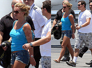 Photos of Britney Spears Leaving Cabo With Friends