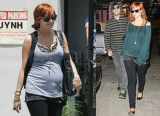 Photos of Pregnant Ashlee Simpson at the Doctor With Pete Wentz