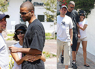 Photos of Eva Longoria and Tony Parker in LA; Eva Is Opening a Beso in Las Vegas