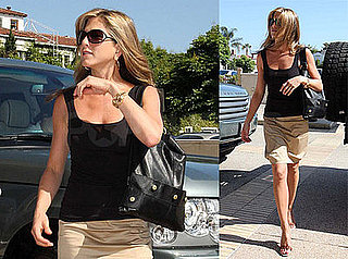 Photos of Jennifer Aniston Shopping At Barneys