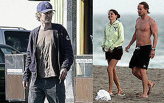Photos of Owen Wilson Eating Lunch in Santa Monica
