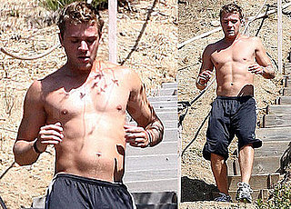 Photos of Shirtless Ryan Phillippe Working Out