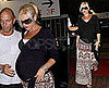 Photos of Very Pregnant Gwen Stefani Arriving at a Hospital in LA