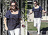 Photos of Pregnant Jennifer Garner Visiting A Friend in LA