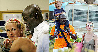 Photos of Heidi Klum and Seal With Their Kids in Porto Cervo, Italy