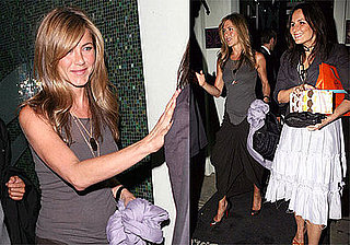 Photos of Jennifer Aniston at the Foxtail Lounge