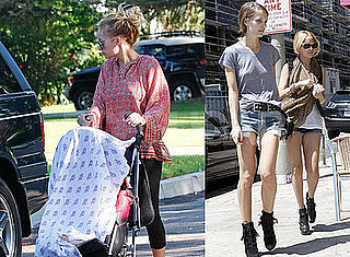 Photos of Nicole Richie, Vanessa Traina and Baby Harlow Madden in Los Angeles