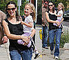 Photos of Pregnant Jennifer Garner Taking Violet To Art Class