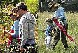 Photos of Sarah Jessica Parker, Matthew Broderick and James Wilkie Broderick on Vacation in Ireland