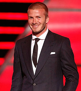 Photo of David Beckham, Who Will Star in the Closing Ceremony of the 2008 Beijing Olympics