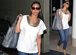 Photos of Beyonce Knowles Departing From LAX Airport