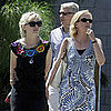 Kirsten Dunst Takes Her Parents To Lunch