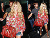 Photos of Jessica Simpson in Short Shorts Leaving Mr. Chow With Ken Paves