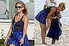 Photos of Kate Hudson and Ryder Robinson Playing Volleyball at the Beach