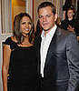 Matt and Luciana Damon Welcome a Baby Girl!