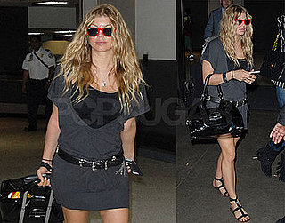 Photos of Fergie Arriving at LAX