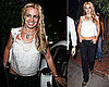 Photos of Britney Spears Outside the Little Door in LA