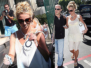 Britney Spears Is a Fit Vision in White