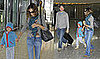 Photos of Sarah Jessica Parker, Matthew Broderick and James Wilkie Broderick at Heathrow