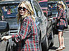Photos of Mary-Kate Olsen Wearing Plaid