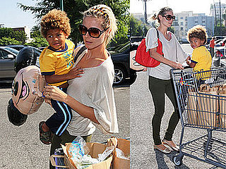 Photos of Heidi Klum With Celebrity Baby Henry Samuel