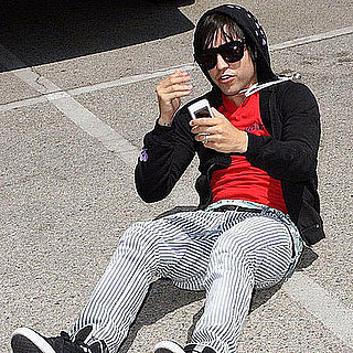 Pete Wentz Falls Down With His Flip