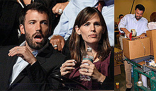 Photos of Ben Affleck and Jennifer Garner at the Democratic National Convention