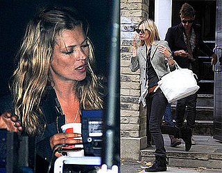 Photos of Kate Moss in London at the Reading Festival
