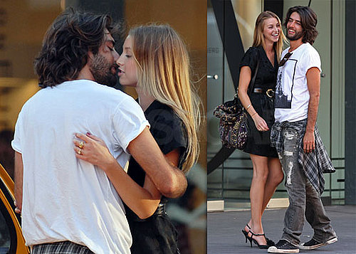 Photos of Whitney Port of The Hills At Diane von Furtsenburg Kissing a New Guy