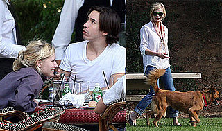 Photos of Kirsten Dunst and Justin Long in LA