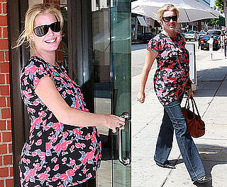 Photos of Pregnant Rebecca Romijn at Mr. Chow