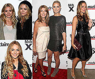 Photos of Mary-Kate Olsen, Ashley Olsen, Nina Garcia, Heidi Klum, Molly Sims, Lindsay Lohan at Marie Claire Event in NYC