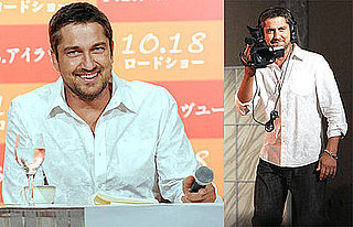 "Photos of Gerard Butler at a Photocall For ""P.S. I Love You"""