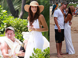 Photos of Newly-Engaged Channing Tatum and Jenna Dewan in Hawaii