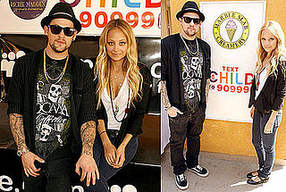 Photos of Nicole Richie and Joel Madden at a Richie-Madden Children's Foundation Fundraiser