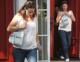 Photos of Pregnant Jennifer Garner Who Travels to Charleston, West Virginia for Fundraiser with Ben Affleck on Friday