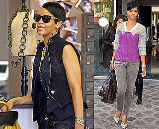 Photos Of Rihanna in Paris, France