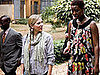 Photos of Scarlett Johansson in Rwanda