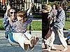 Photos of Amanda Peet at the Park With Her Family